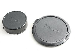 Canon Genuine C-72mm 72mm front lens cap and rear cap for NEW FD lens 8