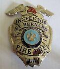 St. Bernard Louisiana Fire Prevention Inspector-Entenmann Rovin