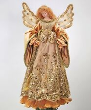 """Katherine's Collection 19"""" Gold Angel Christmas Tree Topper New 11-40024"""