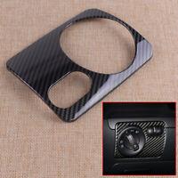 1x Black Headlight Switch Cover Trim Sticker Fit for VW Golf 6 MK6 GTI 2008-12