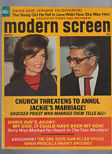 March 1970 Modern Screen Mag- Jackie Kennedy Onassis