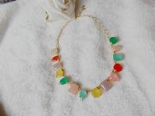 Authentic Kate Spade Multi-Color gems Necklace 18''