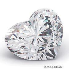 1.12 Carat G/SI2/V.Good Cut Heart Shape AGI Earth Mined Diamond 6.05x7.27x4.14mm