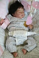 Ethnic Reborn Preemie Baby Girl Doll by nlovewithreborns2011