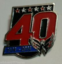 (1) Washington Capitals  40th Anniversary Lapel Pin ***********