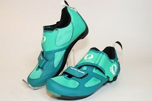 Pearl Izumi Tri Fly V 15215002 Womens 38 7 Indoor Road Bike Cycling Shoes 3-Bolt