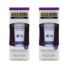2 Pack Gold Bond Ultimate Dark Spot Minimizing Body Cream 2 oz Each