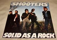 Solid as a Rock by The Shooters (Vinyl LP, 1989 USA Sealed)