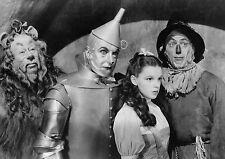 Vintage The Wizard Of Oz Cast BOX CANVAS Art Print Black & White - All Sizes