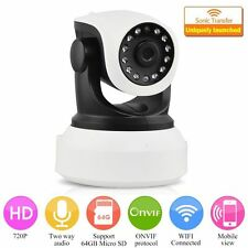 720P Wireless Pan Tilt Security Network CCTV IP Web Camera Night Vision WIFI Cam