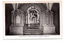 Portugal - Sintra, Palacio da Pena, Capela - Vintage Postcard