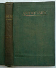 SIR WALTER SCOTT.ANTIQUARY.AUTHORS NOTES.H/B 1900?.RARE BOOTS CHEMISTS EDITION