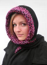 Damen Mütze Schalmütze Kapuzenschal Damenmützen Damenhüte Wollhüte Anlasshüte