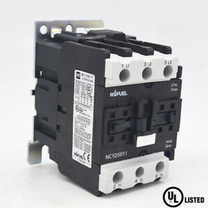 Nofuel NC1D5011F7 AC 3P 120V Contactor replace Schneider TeSys D LC1D50F7