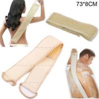 Natural Exfoliating Loofah Back Strap Bath Shower Massage Scrubber Sponge Brush