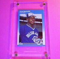 FRED McGRIFF 1987 Fleer Update GLOSSY #U75 Rookie RC MINT (fresh from set)