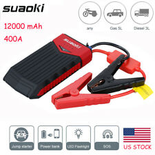 Suaoki T10 12000mAh Car Jump Starter Booster Portable Battery Charger Power Bank