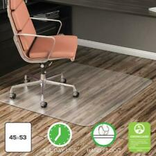 Deflecto Cm21242Com Economat All Day Use Chair Mat For Hard Floors, 45 X 53,