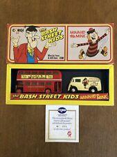 CORGI THE BASH STREET KIDS MORRIS J VAN & AEC BUS MINI THE MINX Limited Edition