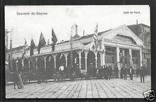 Smyrne Izmir Cafe de Paris Cinematographe Turkey ca 1910