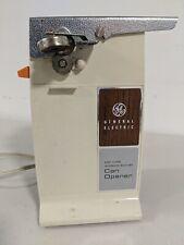 General Electric Ge Can Opener D2-Ec32 Vintage Cream Working