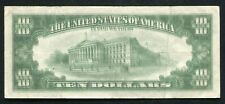 "1985 $10 FRN FEDERAL RESERVE NOTE ""MAJOR DOUBLE IMPRESSION ERROR"" VERY FINE"