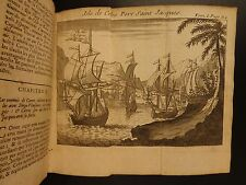 1714 History of Spanish Conquest of Mexico Aztec Hernan Cortes Illustrated 2v