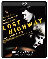 LOST HIGHWAY:David Lynch Japanese original Restore version Blu-ray F/S w/Track#