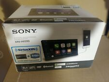Sony XAV-AX200 Receiver Bluetooth MP3/CD/SiriusXM  Apple Car Play Android Auto