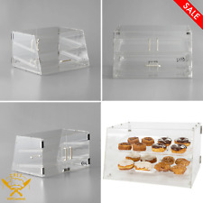 21 X 17 X 12 Inches Choice 2 Tray Bakery Display Case With Front And Rear Doors