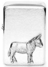 Donkey Mule Ass Petrol Cigarette Lighter Safari  Gift Boxed FREE ENGRAVING