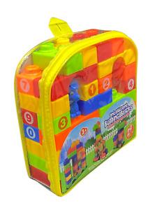 29 PCS KIDS EDUCATIONAL PLASTIC BUILDING BLOCKS BRICKS PLAY TOY GIFT FOR KIDS