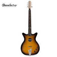 Danelectro '59 Convertible Shorthorn Hollow Body Electric Guitar Tabaccoburst