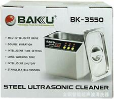 Stainless Steel Ultrasonic cleaner BAKU BK-3550 for communications equipment NEW