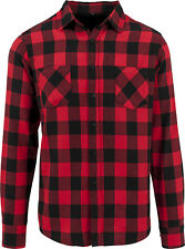 Build Your Brand Checked Flannel Shirt BY031