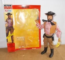 vintage PALITOY ACTION MAN vam & card with stars - COWBOY scout COW BOY - 70/80s