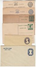 INDIA 6x postal cards/covers all mint not postally used