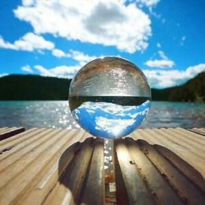 80mm Clear Crystal Ball Magic Healing Meditation Sphere Photography Decoration