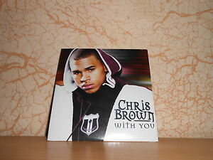 cd single CHRIS BROWN with you - sous blister