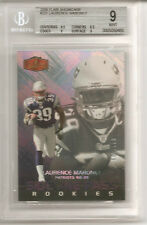 Laurence Maroney 2006 Flair Showcase RC BGS 9 MINT 3/199