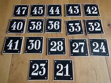 Bakelit Hausnummer