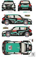 1/43 Decal Skoda Fabia S2000 #31 Rally Suede/Portugal 2012 (Hayden Paddon)