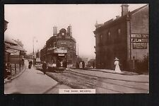 Mexborough - The Bank - real photographic postcard