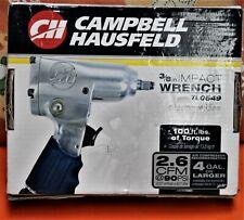 CAMPBELL HAUSFELD 3/8 INCH IMPACT WRENCH TL0549 NIB