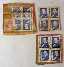 10 Cents Red Cloud & $1 Johns Hopkins US Postage Stamps