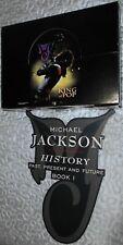 MICHAEL JACKSON HISTORY - PLV + BOX  1995 TRIUMPH INTERNATIONAL - RARE COLLECTOR