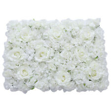 Pack 3 Artificial Rose Hydrangea Flower Wall Panels Wedding Decoration
