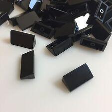 75+ NEW LEGO Black Roof Tile 1 X 2 X 2/3 (ID 85984 / 4548180) Slope Bricks