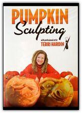 Halloween Pumpkin Sculpting DVD By Terri Hardin