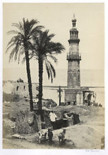 1857 PHOTO EGYPT FRANCIS FRITH - VIEW OF GIRGEH